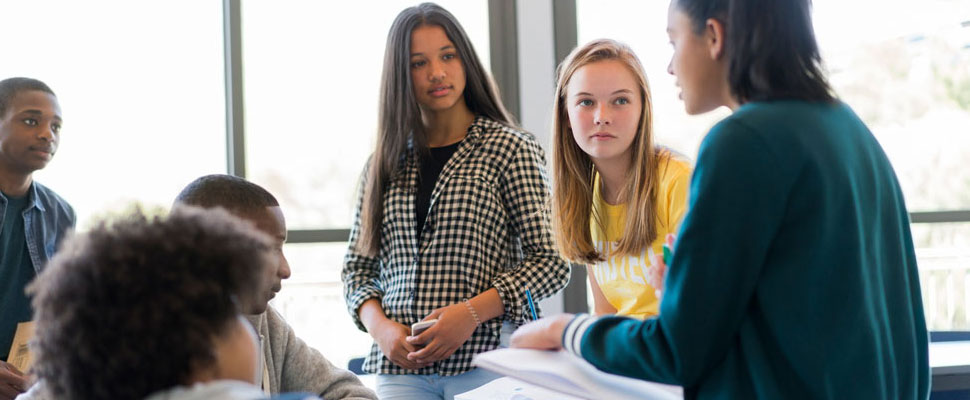 teens teaching other teens